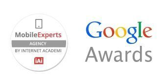 Primer Premio en Consurso Mobile Experts Google Awards